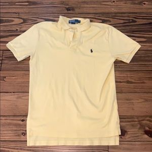 Light yellow Ralph Lauren polo size small